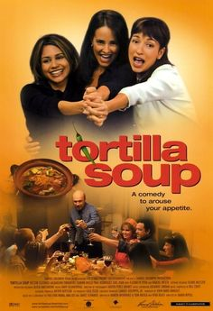 Tortilla Soup is a 2001 American comedy-drama film directed by Maria Ripoll. The screenplay by Tom Musca, Ramón Menéndez and Vera Blasi is based on the film Eat Drink Man Woman, which was written by Hui-Ling Wang, Ang Lee, and James Schamus. The film stars Héctor Elizondo, Jacqueline Obradors, Elizabeth Peña, Tamara Mello, Raquel Welch, Paul Rodriguez and Constance Marie. Plot: A Mexican-American master chef and father to three daughters has lost his taste for food but not for life.