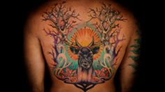 Best Ink Carly's back piece