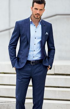 The latest version of deep blue custom wedding the groom, holds the men on the beach for two buttons formal PROM dresses coat   pants