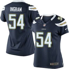 Melvin Ingram Elite Nike Melvin Ingram Elite Jersey at Chargers Shop. (Elite Nike Women's Melvin Ingram Navy Blue Jersey) San Diego Chargers Home NFL Easy Returns. Nike Elites, Chargers Nfl, San Diego Chargers, Stefon Diggs Jersey, Melvin Ingram, Eric Weddle, Nhl Jerseys, Nfl Shop, Nike Nfl
