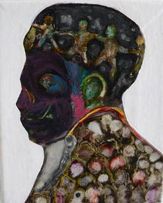 Ryan Mosley, Considering Cap, 2007, oil on linen, 25x21cm