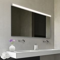 Sonneman 48 Bath Bar Mirror Kit Led Mirrors Luxury Lighting