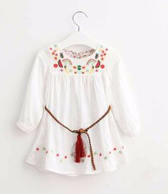 Basket of Boho Fruit Tunic Dress