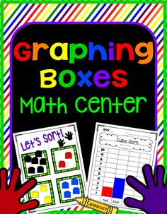 Teach123 - tips for teaching elementary school: Math Center: Graphing Boxes