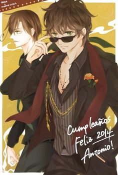 Romano & Spain>>> Oh yes please hot like wow