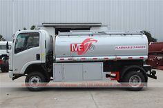 ISUZU all-wheel-drive oil tanker truck Fuel Truck, Oil Tanker, Hose Reel, Fire Extinguisher, Car Brands, Heating Systems, Diesel Engine, Chinese, Trucks