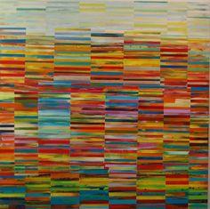 """Acrylic on Wood Panel  48"""" x 48""""  2010"""