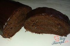 Křehká roláda s čokoládovou náplní | NejRecept.cz Pavlova, Beef, Baking, Food, Cakes, Fitness, Meat, Gymnastics, Meal