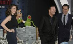 It's time to play the music! It's time to light the lights! Kermit, Miss Piggy and the whole muppet gang are back in a new movie, Muppets Most Wanted, along with Tina Fey, Ricky Gervais, and Ty Burrell.