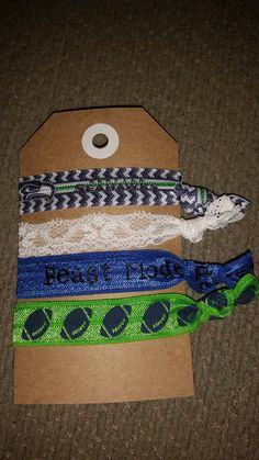Seahawks Elastic Hair Ties / 12th Woman Hair Ties