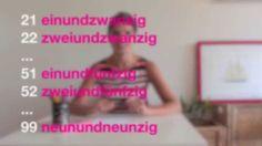 Němčina pro samouky mit Jitka 7: Základní číslovky