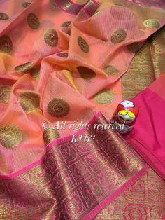 How to buy it? Kota Silk Saree, Bridal Silk Saree, Chiffon Saree, Saree Dress, Pure Silk Sarees, Saree Wedding, Sari, South Indian Sarees, Ethnic Sarees