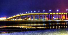 Biloxi Bay Bridge Photograph