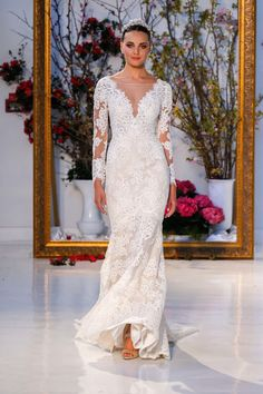 Anne Barge Bridal Spring 2017 collection.