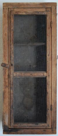 Primitive Country Furniture Cupboard...