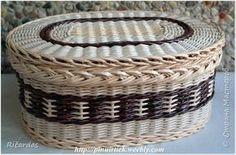 Поделка изделие Плетение 2015 январь-март Картон Трубочки бумажные фото 34: