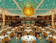 Carnival Sunshine dinner restaurant