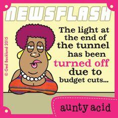 Aunty Acid Comic Strip, June 19, 2015 on GoComics.com