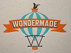 Wondermade - Beautiful letterpress logo and branding system!Wondermade - Beautiful letterpress logo and branding system! Typography Love, Graphic Design Typography, Graphic Design Illustration, Lettering, Graphic Art, Brand Packaging, Packaging Design, Branding Design, Zine