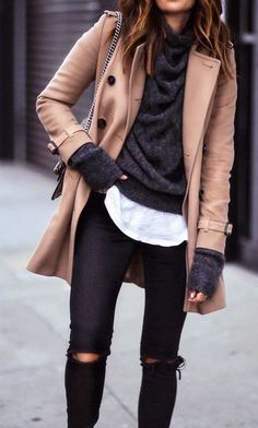 Layered chic.