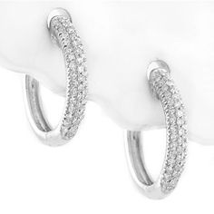 Buy diamond and gemstone hoop earrings directly from the manufacturer and save. The earrings are available in all sizes, and precious metals metals. Natural Diamonds, Round Diamonds, Diamond Hoop Earrings, 3 Carat, Diamond Stone, Colored Diamonds, Earrings Handmade, Jewelry Watches, Fine Jewelry