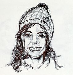 Mädchen mit Mütze 2