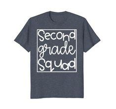 Second Grade Squad Tshirt for Teachers and Kids Funky Fre... https://www.amazon.com/dp/B07BC6481T/ref=cm_sw_r_pi_dp_U_x_-BgPAbEDXKB68