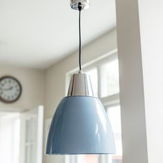Available in white & blue with brushed aluminium. each subject to colour inner. would suggest using white inner if choosing blue light. Must ensure that blue replicates any other furniture purchased. Light Blue, Purchase Furniture, Ceiling Lights, Ceiling Rose, Home Decor, Light Painting, Pendant Light, Light, Brushed Aluminum