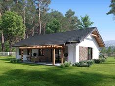 Simple House Design, Design Case, Cottage Homes, Bungalow, Cabin, House Styles, Outdoor Decor, Houses, Home Decor