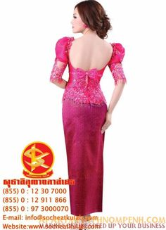 Dear All value clients, I would like to inform all of you. My shop dresses provide the service create the model all kind of dresses and traditional Khmer clothes for joining all party and teaching tailor, dresses, den, and without limit time all of people, whom interested in learning how to creative, tailor, all kind of ladies's dresses and all party too ( price now only 250$ befour 350$ expired date on 01.10.2013 ).   012307000/012911866 www.socheatkulab.com
