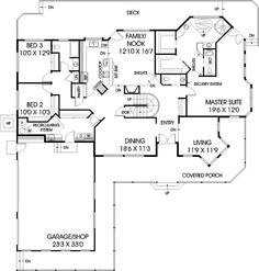 Love the Master Suite Layout! - Plan #085D-0709 | houseplansandmore.com