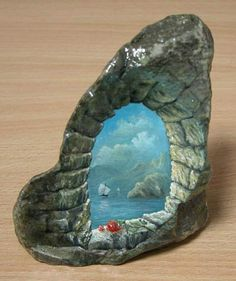 Rock Painting...OMG,this is extraordinary!!!