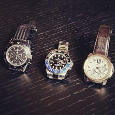 ミドルエイジ男性のための イケてる腕時計とは…? 40代社長の腕時計拝見!  左 #ジャガールクルト  中 #ロレックス  右 #カルティエ  詳しくはFORZA STYLEにて…  #社長の腕時計  #腕時計 #watch #私物拝見 #コレクション  #フォルツァスタイル #FORZASTYLE
