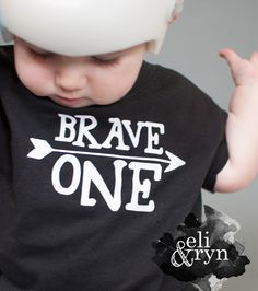 Brave One Toddler Tee in Black and White - 1st Birthday Shirt - One Year Photos - First Birthday - Kids Birthday Shirt - Be Brave Little One by EliandRyn on Etsy https://www.etsy.com/listing/246869582/brave-one-toddler-tee-in-black-and-white