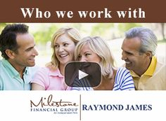 Milestone Financial Group is an independent wealth services firm. Dave Hunt, CFP, is the principal owner with over 25 years experience in the financial services industry and offers securities through Raymond James Services, Inc.