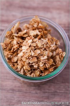 Backen macht glücklich | Selbstgemachtes Knuspermüsli – das allerbeste Granola | http://www.backenmachtgluecklich.de
