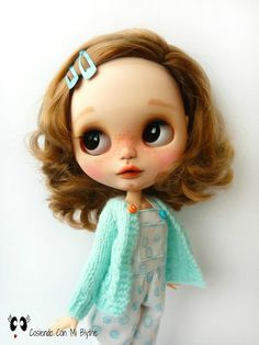RESERVED TO GEMA Custom Blythe doll Aurora by Cosiendoconmiblythe