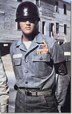 Elvis Presley in the army Germany
