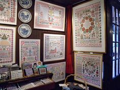 Jan Houtman – Theo Spaan-Houtman | Berthi's Weblog Cross Stitch Samplers, Modern Cross Stitch, Needlepoint, Picture Frames, Needlework, Gallery Wall, Embroidery, Display Ideas, Antiques