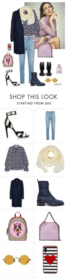 """""""Lovely weekend 💗"""" by katelyn999 ❤ liked on Polyvore featuring Givenchy, RE/DONE, Tory Burch, Ermanno Scervino, MSGM, Rick Owens, Nicholas Kirkwood, Gucci, STELLA McCARTNEY and Hakusan"""