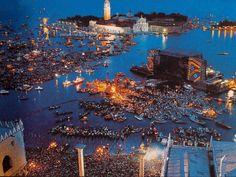 Venice, Pink Floyd concert
