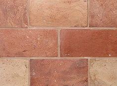 Rectangle Blend 5 3/4 X 11 3/4 X 5/8. Reclaimed European Terra Cotta from Country Floors. #terracotta