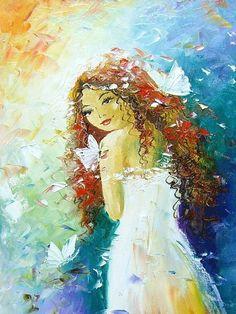 Красота — первый подарок, который Природа вручает женщине.