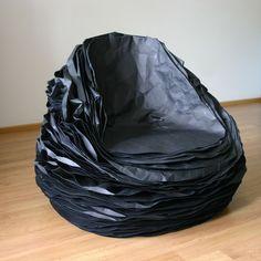 Een stoel van papier