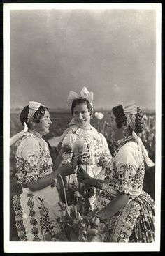 Kalocsai népviselet | Képcsarnok | Hungaricana Folk Dance, Folk Costume, Traditional Outfits, Hungary, Dress To Impress, Military, Pretty, Painting, Inspiration