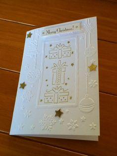 A6 Christmas Card. Blank inside