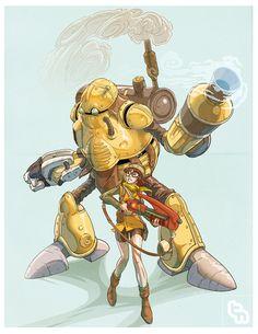 Terra Arm and Wondershot by robotnicc.deviantart.com on @deviantART
