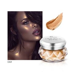 Smart Jelly Gel Jelly Highlights Fluid Body Highlights Face Cream Mermaid Her Eye Shadow Refreshing And Beneficial To The Eyes Beauty & Health Eye Shadow