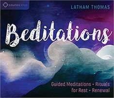 AUDIOBOOK  Beditations: Guided Meditations and Rituals for Rest and Renewal: Latham Thomas: 0600835535922: