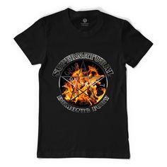 Supernatural Demonic Fury Silver Women's T-shirt